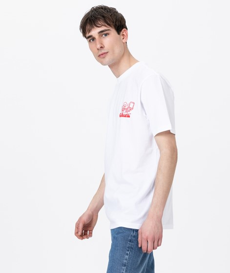 CARHARTT S/S Bene T-Shirt white/ red