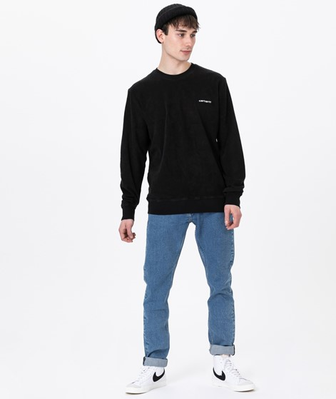 CARHARTT Terry Sweater black/ white