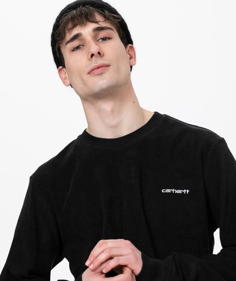 CARHARTT WIP Terry Sweater black/ white