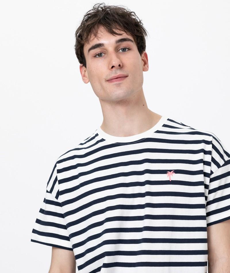 REVOLUTION Elbek T-Shirt navy