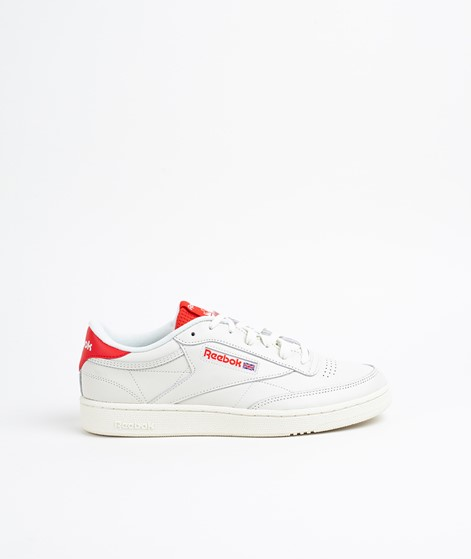 REEBOK Club C 85 MU Sneaker chalk/red