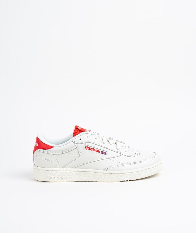 REEBOK Club C 85 MU Sneaker chalk/red