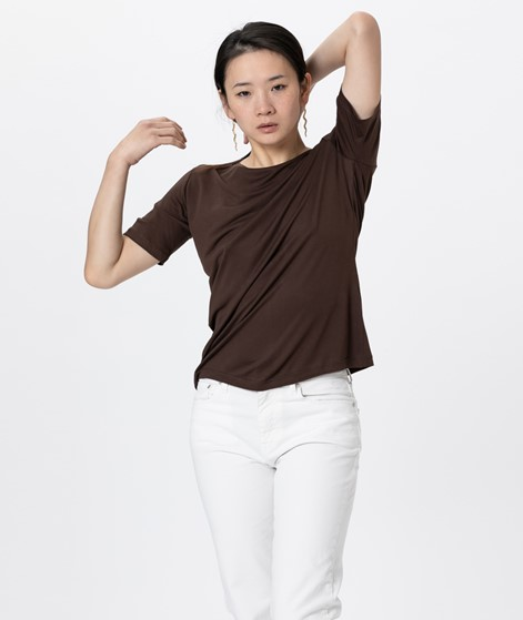KAUF DICH GLUECKLICH T-Shirt braun