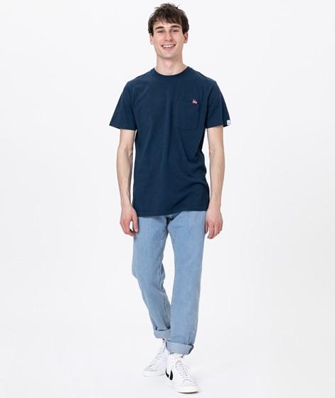 REVOLUTION Sverre T-Shirt navy-melange