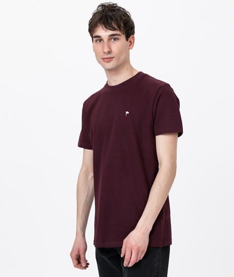 WEMOTO Arthur T-Shirt burgundy