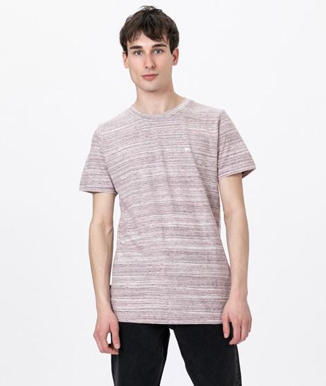 WEMOTO Warren Mel T-Shirt burgundy mel
