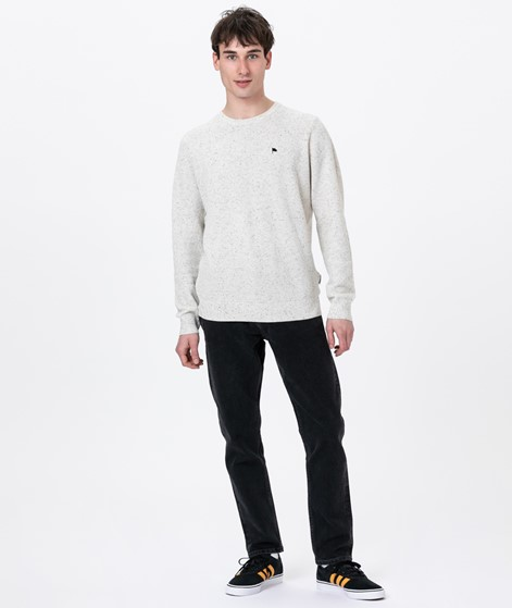 WEMOTO Fred Pullover off white nep