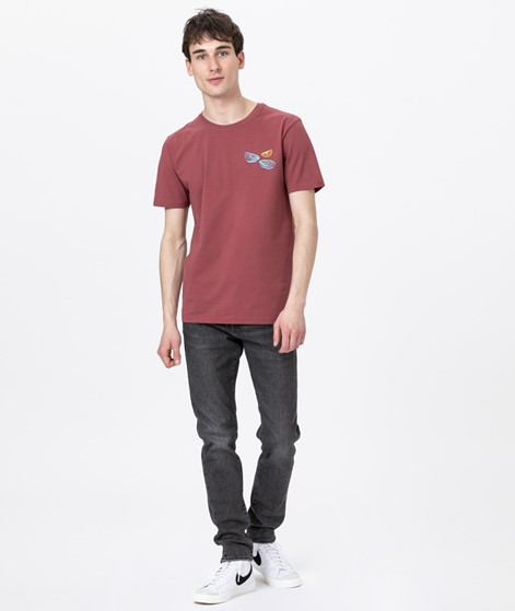 OLOW Oysters T-Shirt burgundy