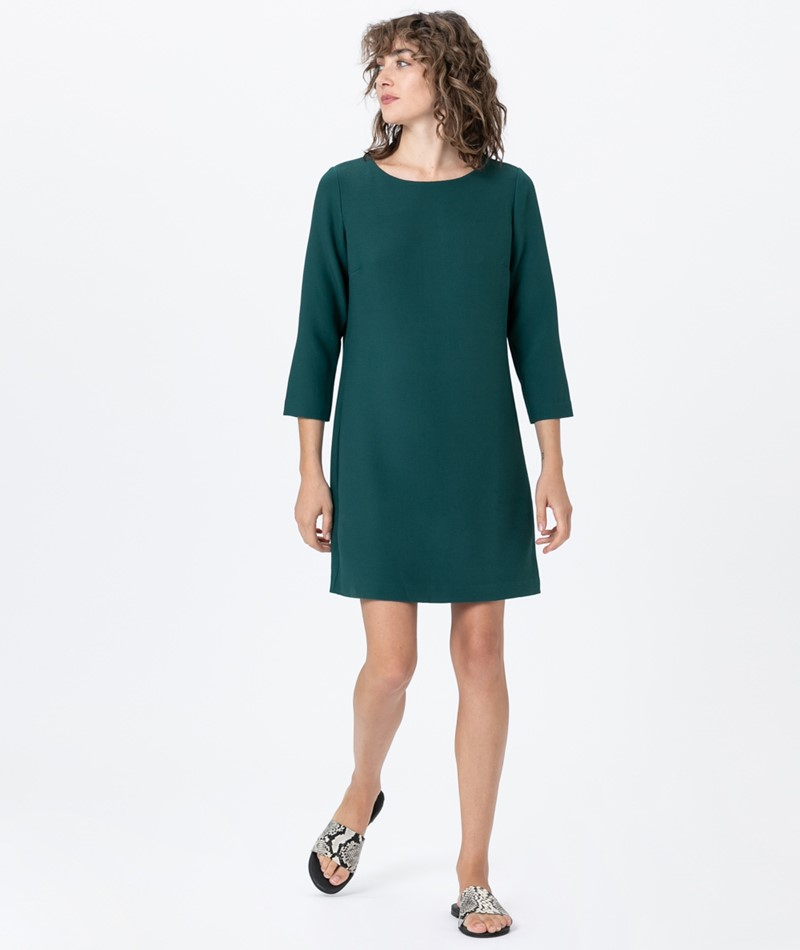 ANOTHER LABEL Palmer L/S Kleid Sea Moss