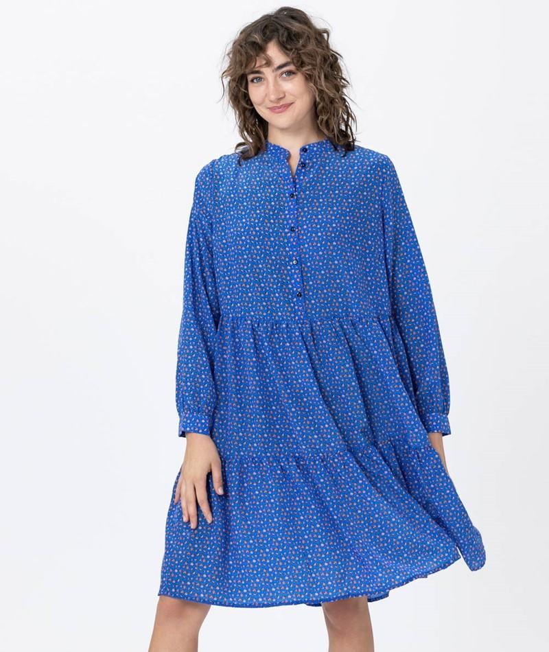 MOVES Valis Kleid true blue
