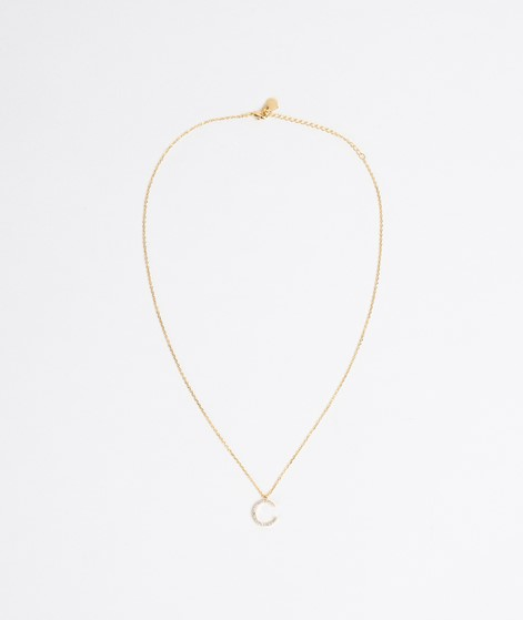 ESTELLA BARTLETT Moon White Kette gold