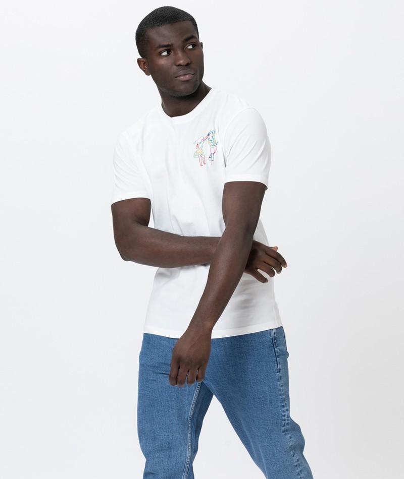 OLOW Danceurs T-Shirt offwhite
