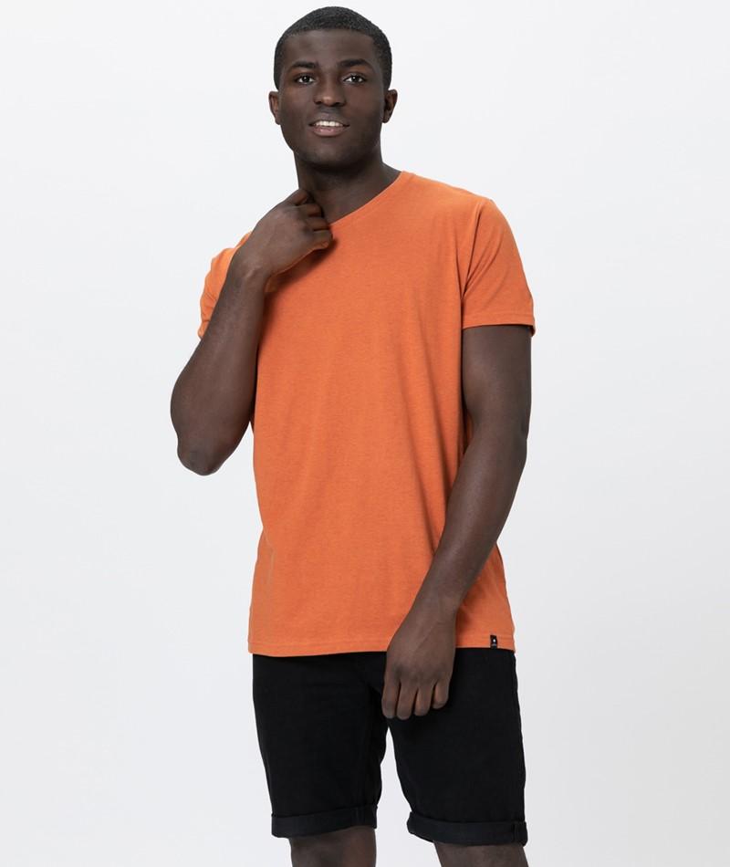 REVOLUTION Arne T-Shirt orange-mel