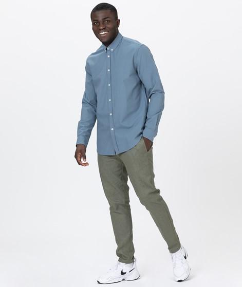 SAMSOE SAMSOE Liam BX Hemd blue mirage