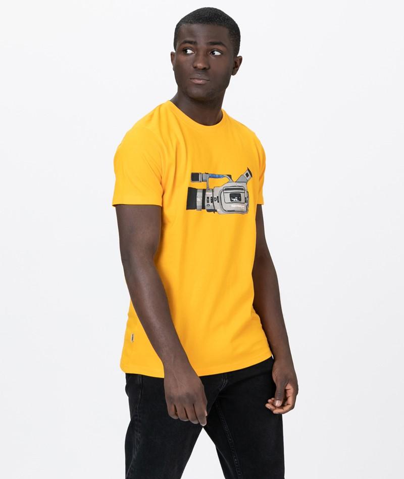 WEMOTO Cam T-Shirt yellow