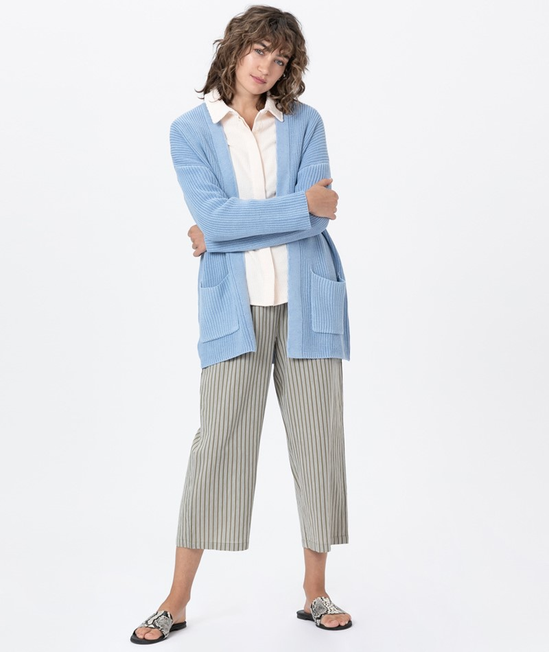 DESIGNERS SOCIETY Long Knitted Cardigan