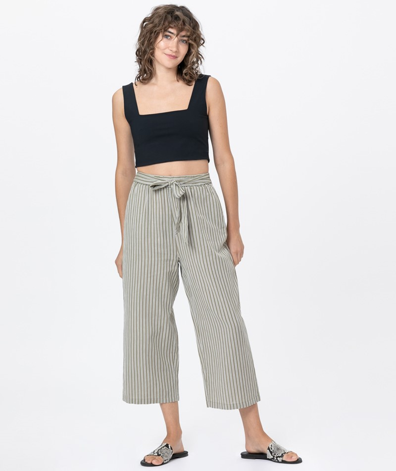 DESIGNERS SOCIETY Striped Culottes Hose