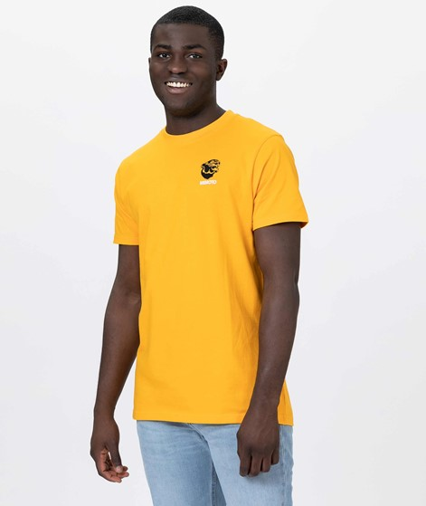 WEMOTO Gavin T-Shirt yellow