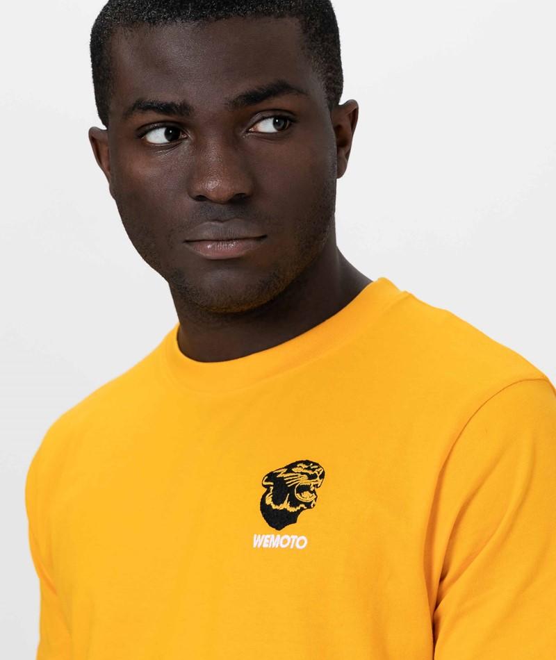 WEMOTO Gavin T-Shirt yellow