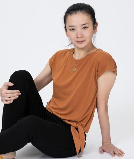KAUF DICH GLÜCKLICH T-shirt caramel