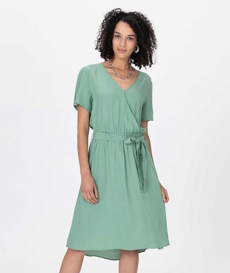 VILA VIPrimera S/S Wrap Kleid frost