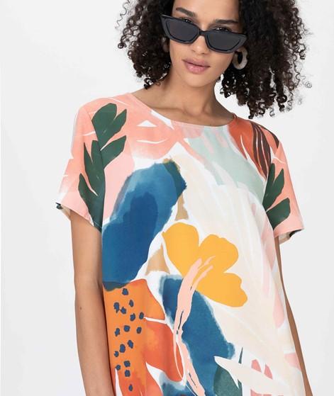 MINKPINK Abstract Foliage Tee Kleid