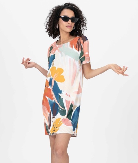 MINKPINK Abstract Foliage Tee Kleid