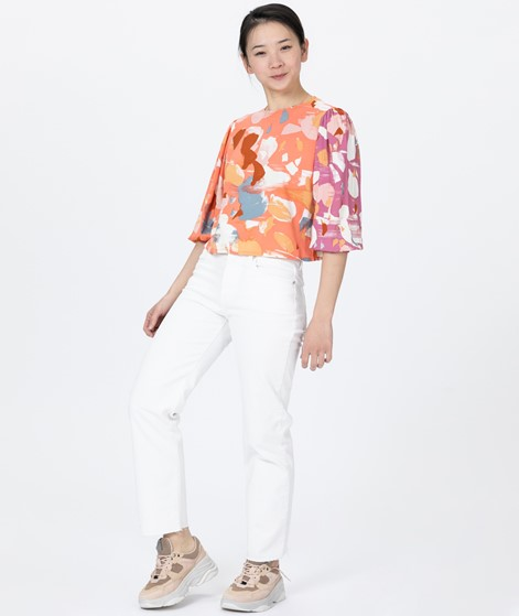 NATIVE YOUTH Dafne Bluse peach print