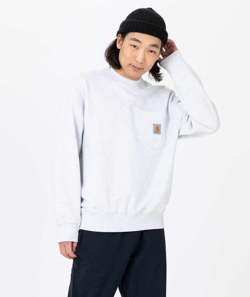 CARHARTT WIP Pocket Sweater ash heather