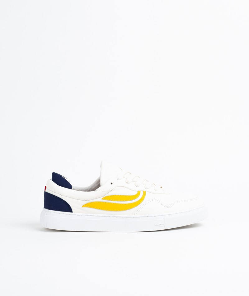 GENESIS G-Soley Sneaker white/yellow