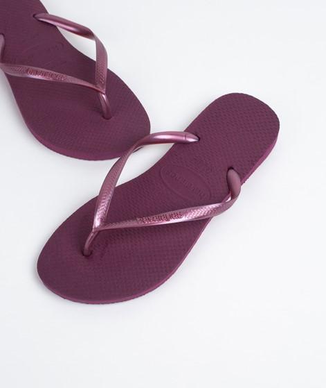 HAVAIANAS Slim Flip Flop bordeaux