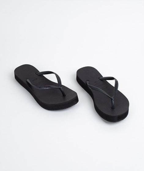 HAVAIANAS Slim Flatform Flip Flop black