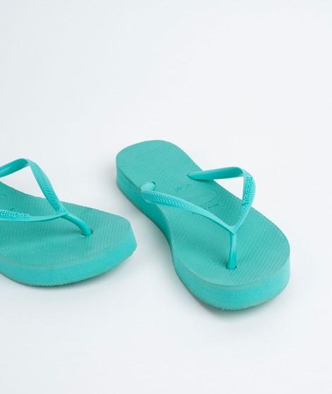 HAVAIANAS Slim Flatform Flip Flop green