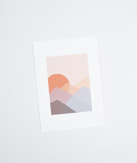 KAUF DICH GLÜCKLICH Postkarte Sunrise