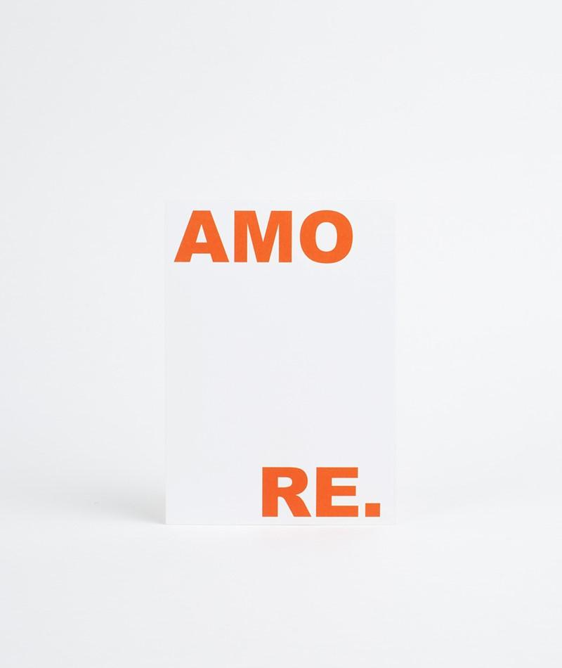 KAUF DICH GLÜCKLICH Postkarte Amore