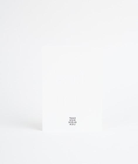 KAUF DICH GLÜCKLICH Postkarte Tres Bien