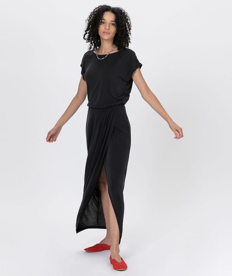 VILA VIModala Ancel Kleid black