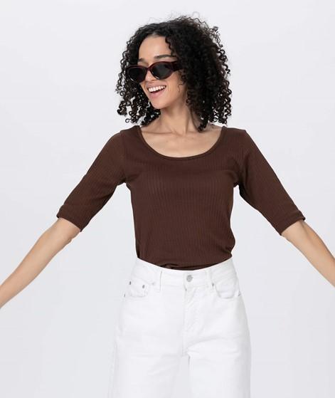 KAUF DICH GLÜCKLICH Nina T-shirt choc