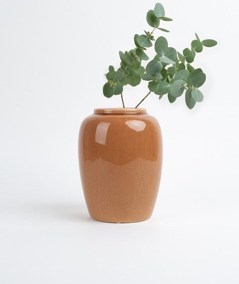 BROSTE Vase Crackle indian orange