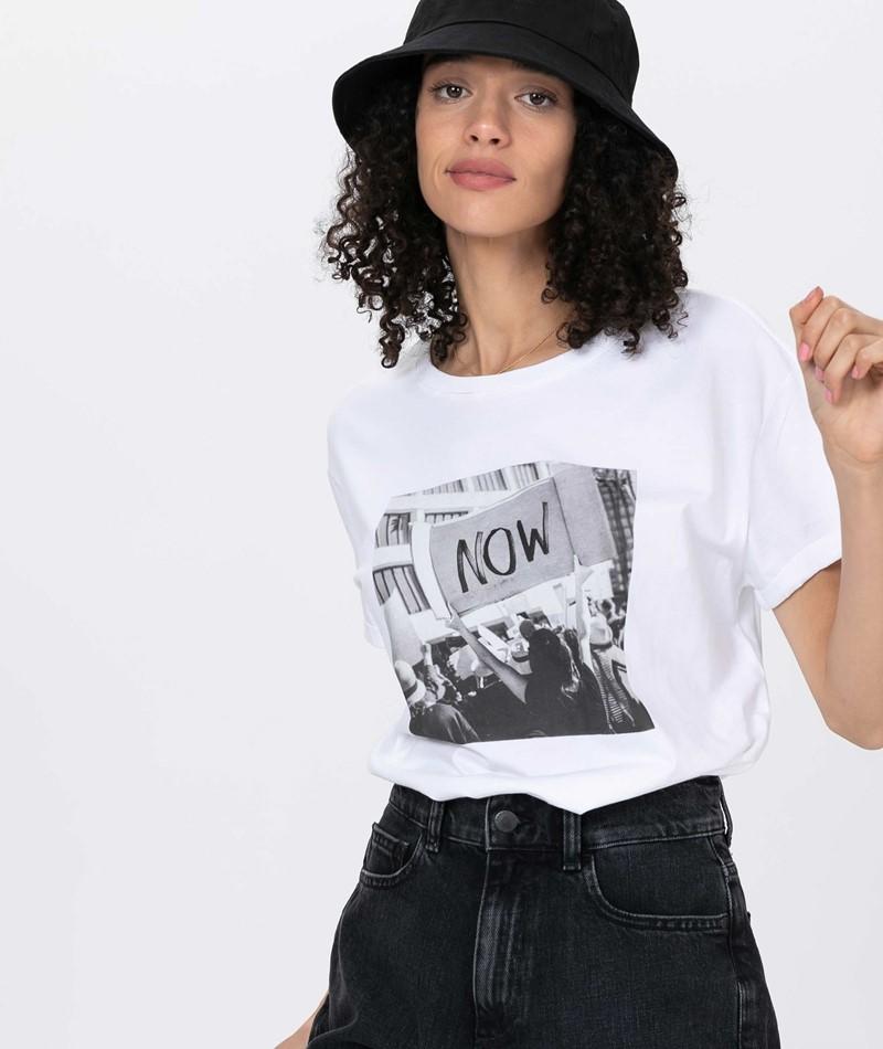 ARMEDANGELS Naalin Now T-Shirt white