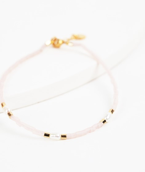 BLUSH INDIGO Capri Bracelet blush rose
