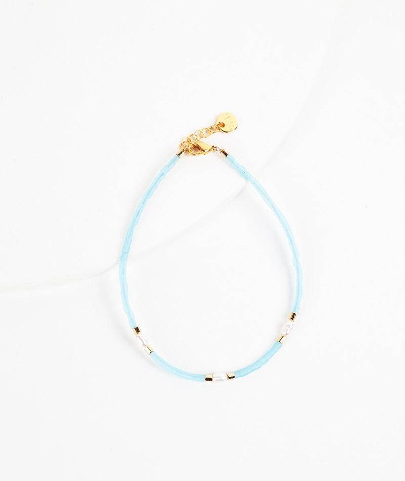 BLUSH INDIGO Capri Bracelet fresh mint