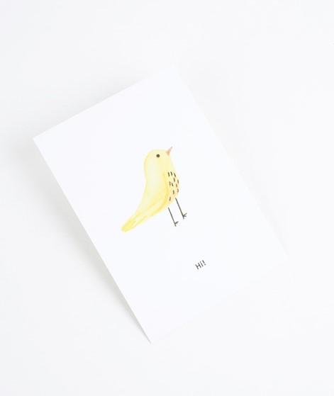 KAUF DICH GLÜCKLICH Postkarte Bird