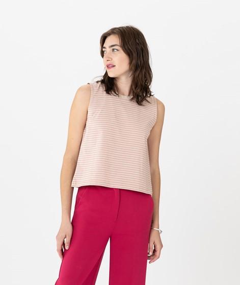 KAUF DICH GLÜCKLICH Top pink stripe