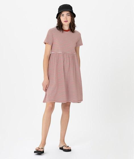 KAUF DICH GLÜCKLICH Rosa Kleid red strip