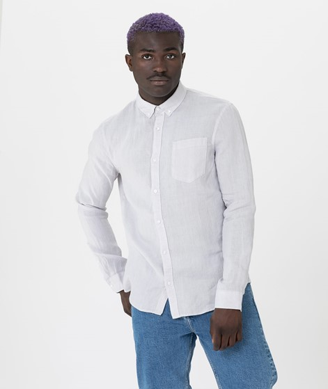 NOWADAYS Button Down Linen Hemd