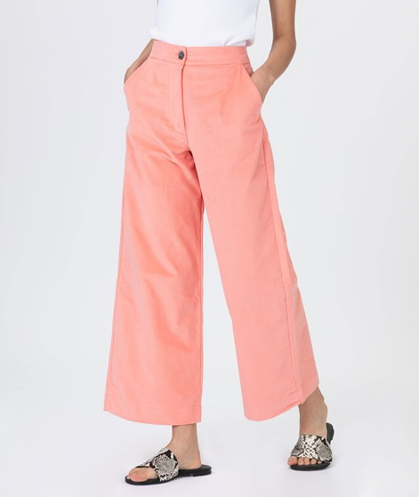 JAN N JUNE Como Cropped Hose cantaloupe