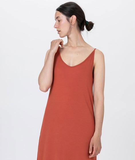 JAN N JUNE Triangle Midi Kleid rost