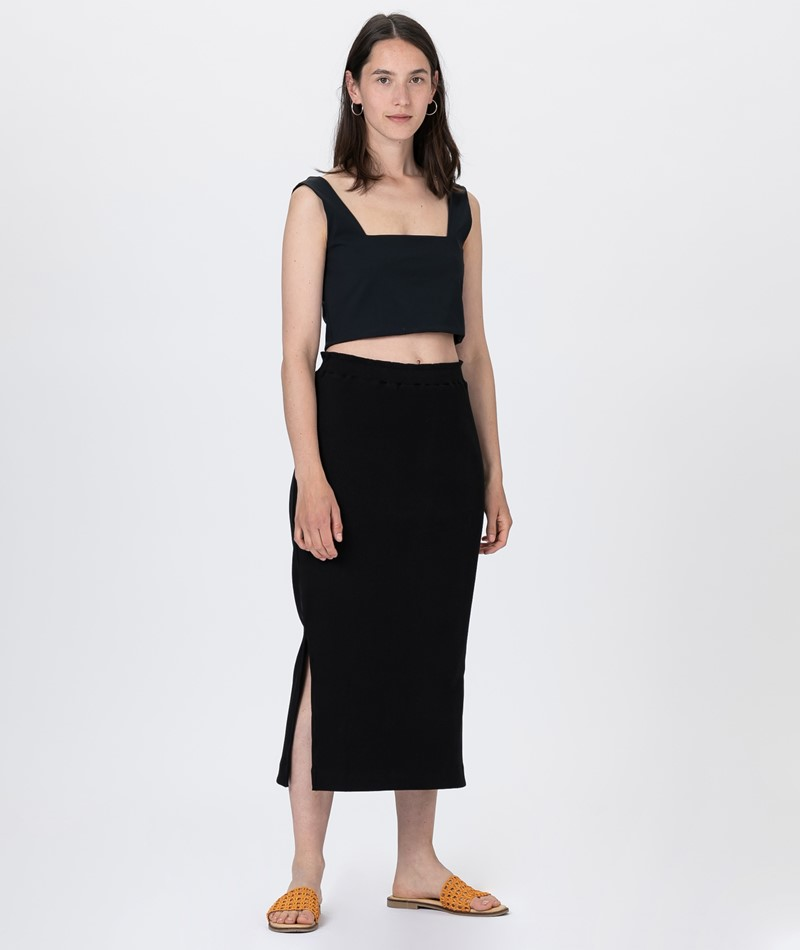 JAN N JUNE Finley Midi Rock black