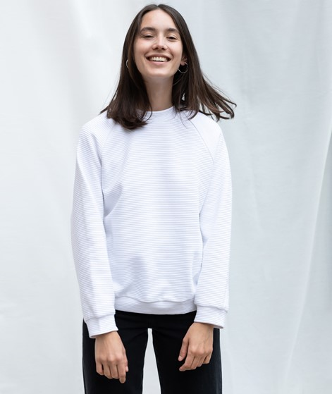 JAN N JUNE Toulon O-Sweater white